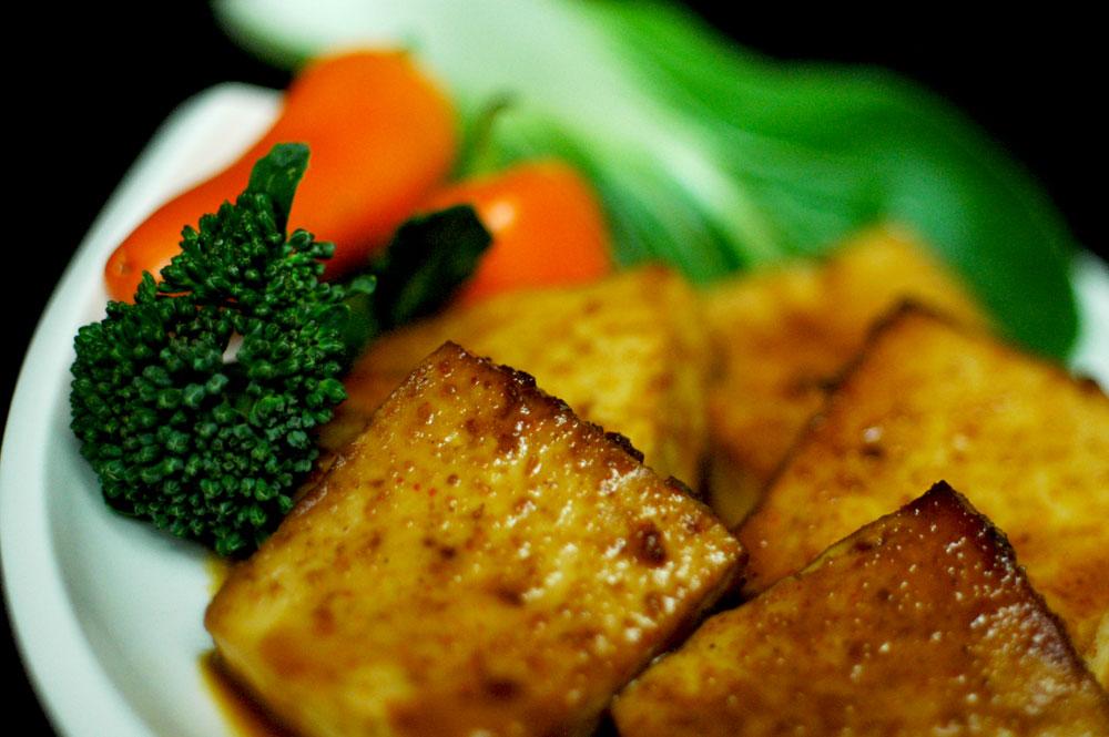 Skillet Tofu with SASS